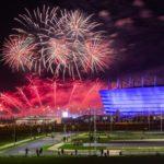 Profesionalūs fejerverkai Fejeras Pasaulinis fejerverkų čempionatas 2018 Rusijoje, Kaliningradas