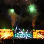 Ugnies efektai ir fejerverkai roko muzikos festivalyje GERS 2019