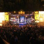 Ugnies efektai ir scena roko muzikos festivalyje GERS! 2019